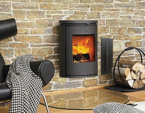 En brændeovn kan varme hele huset op